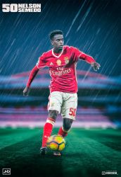 Nelson Semedo - SL Benfica by JuniorNeves