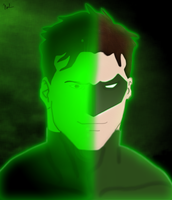 Hal Jordan - Green Lantern Transformation by sonicphotoxstudio