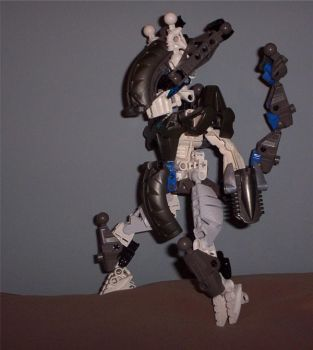 Technic Armor Mewtwo by archus7