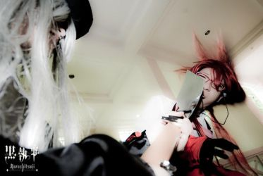 grell gets smacked by liberifatalis