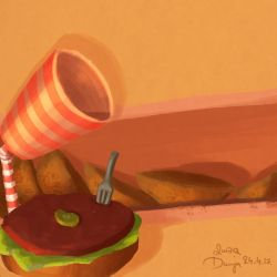 Rock And Fork by 237Q-Dunja