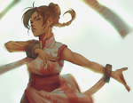Tenten eclipse of the heart by BayneezOne