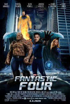 MCU Fantastic Four Movie Poster #2 by MarcellSalek-26