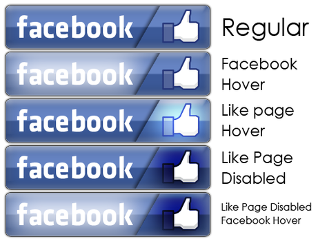 Facebook Button :D by Shadow3vi1
