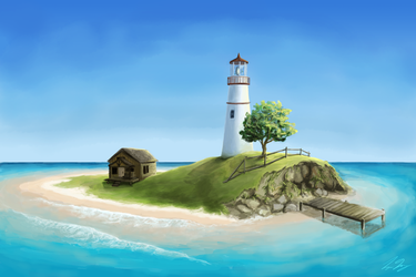 The Lighthouse by semblare
