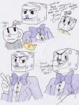 King Dice doodles by Mochathespoongirl