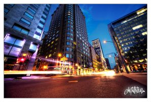 Montreal at Night 79 by Pathethic