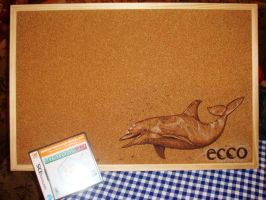 Pinwand Ecco the Dolphin by Sega-Club-Tikal