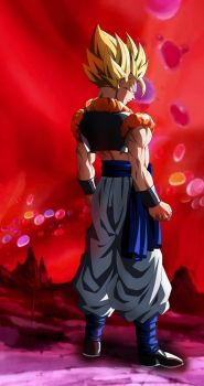 Crushing Saiyan Union! Gogeta. by Koku78