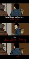 I could use a shower by M0rwenn4