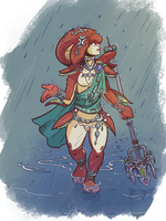 Mipha by Pehesse
