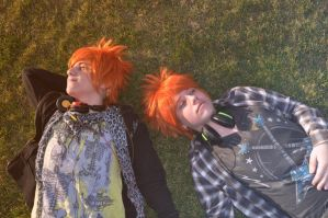 Look the sunlight, brother - OHSHC by Megumi-Nightwack