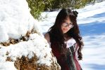 Spring Thaw, Late Winter Snow 10 by StrawberryVibe