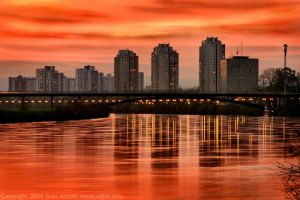 ZG Skyscapers by ivekvatrozic