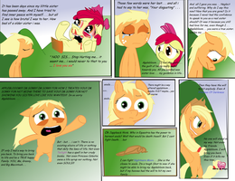 Jappleack's Prologue (MLP: Battle Is MAgic) by trickguyshy