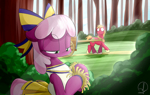 [SS6 E14] Prepared To Do Cheerilee-der by PhuocThienCreation