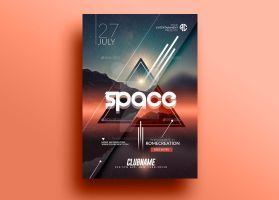 Package Space | x10 Minimal Flyer Templates by RomeCreation