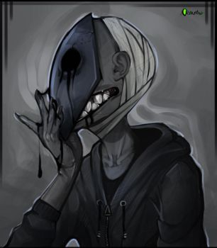 |Eyeless Jack Fanart| Monsterous by 0ktavian