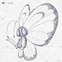 Reimagining: #012 - Butterfree by tsunami-dono