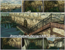 The Bridge - Resident Evil 5 by JhonyHebert