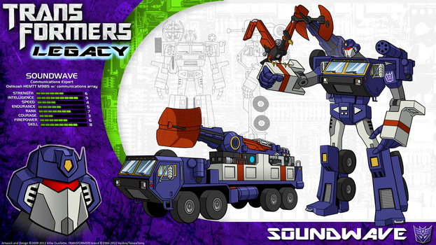 Transformers Legacy: Soundwave by CyRaptor
