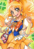 Aceo: HappinessCharge PreCure! Honey by saniika