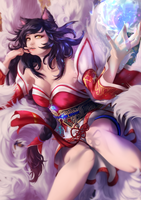 Ahri by yeinART