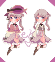 [set price: closed] Witch Adopt by tekumachi
