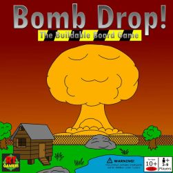 BOMB DROP buildable board game by artman101
