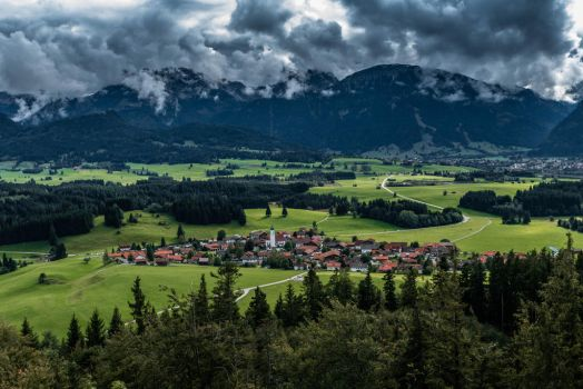 A village in bavaria by McGoe