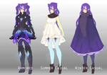 [OS] Ophelia Outfits by Valkymie