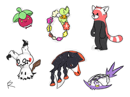 Alola Pokemon Doodles