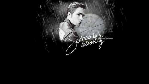 Sadness is a blessing - Robert Pattinson by forr-yoouu