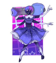 Iolite (Fusion Commission) by ChocolateCake222