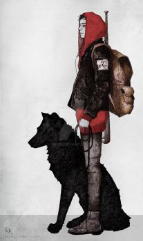 The boy and the wolf by suisou
