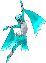 Fierce Deity Princess Ruto by Fish-with-a-Knife