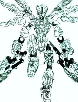 tahu 20 by inkartwriter - Hero Factory Coloring Pages Furno