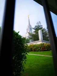 A Glimpse of Cebu Philippines Temple by liagiannjezreel