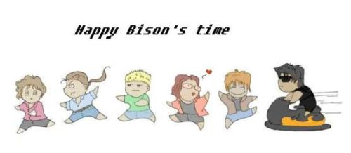 Happy Bison's time by Jargua