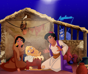Disney Nativity by Glee-chan
