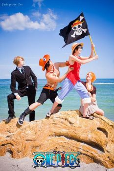 ONE PIECE - FLAG by Hasadosh