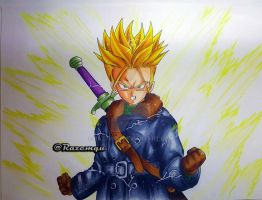 Future Trunks Xenoverse Style by razemqu