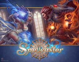 Spellcasters Box Art by kerembeyit