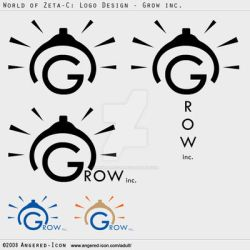 Logo Design - Grow inc. by Angered-Icon