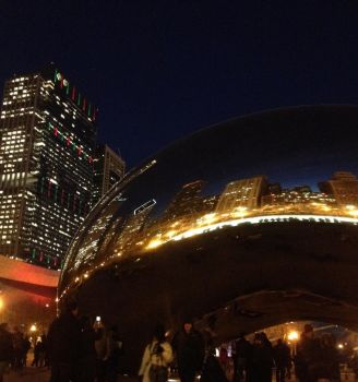 The Big Bean in Chicago by multifandomed25