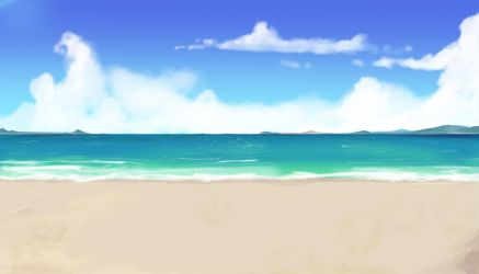 Yet Another Beach Background Part 2 by wbd