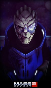 Garrus Vakarian by laloon