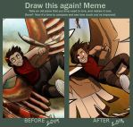 Before and After Meme|''Falling'' vs ''Memories'' by CRFahey