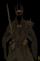 Witch-King of Angmar Color by burnay
