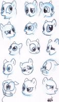 Pony expressions Mk3 by jump-cut